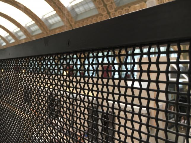 Country Spotlight: Architectural Metal Mesh in The Musée d'Orsay