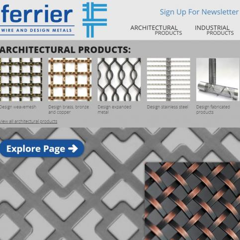 Ferrier Wire & Design: Redesigned and Merged!