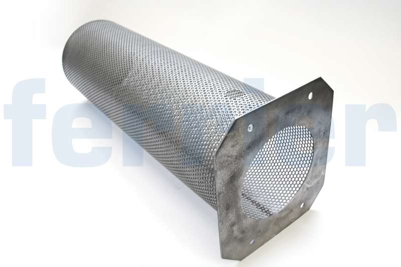 Ferrier stainless steel perforated strainer