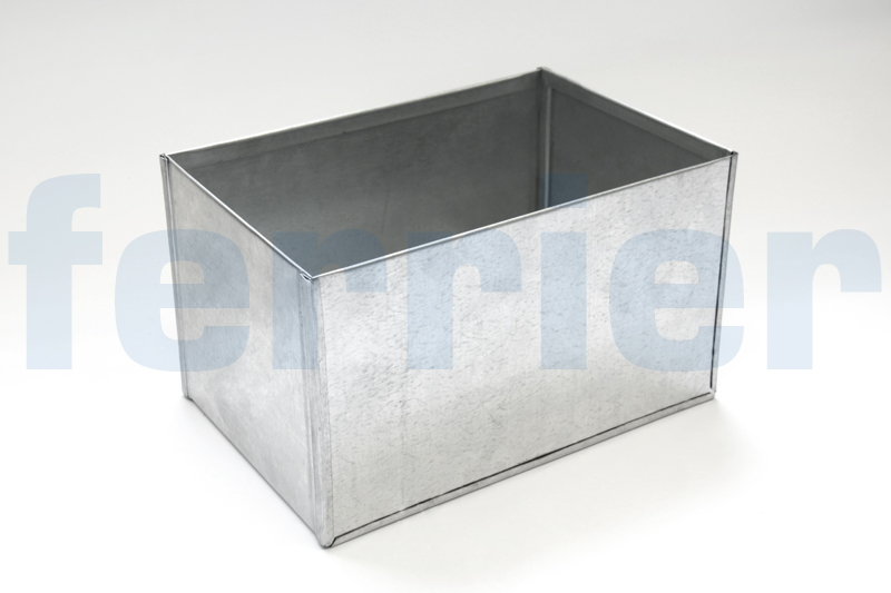 Ferrier galvanized sheet metal box